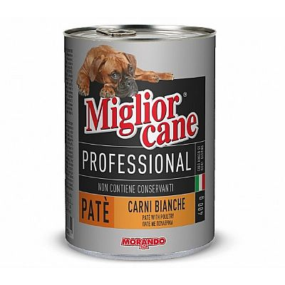 MIGLIORCANE PROFESSIONAL PATE ΜΕ ΠΟΥΛΕΡΙΚΑ 400gr
