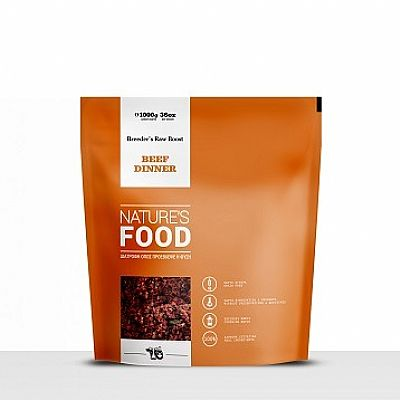 NATURE'S BEEF DINNER, BREEDER'S RAW BOOST 1 ΚΙΛΟ